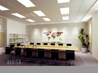 Asian style study/office by DCOR Asian