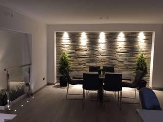 SILVIA ZACCARO ARCHITETTO Modern dining room