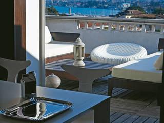 Daniele Franzoni Interior Designer - Architetto d'Interni Modern Terrace Wood White
