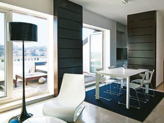 Daniele Franzoni Interior Designer - Architetto d'Interni Modern Living Room Wood Brown
