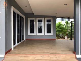 งานสร้างบ้านพักผ่อนชั้นเดียว:   by StudioBdesign