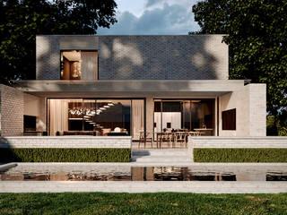 Частный дом в Ейске: Загородные дома в . Автор – Архитектурная студия Чадо