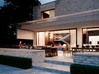 Жилой дом в Ейске: Загородные дома в . Автор – Архитектурная студия Чадо