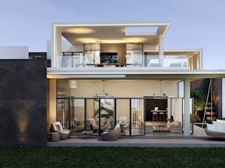 van SA Architects and Partners Modern