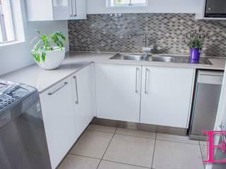 Modern White High-gloss Ergo Designer Kitchens & Cabinetry Kitchen units Wood-Plastic Composite White