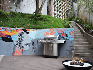 Patios & Decks by santiago dussan architecture & Interior design, Eclectic