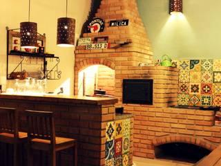 Rumah oleh Vanessa Vosgrau Arquitetura, Rustic