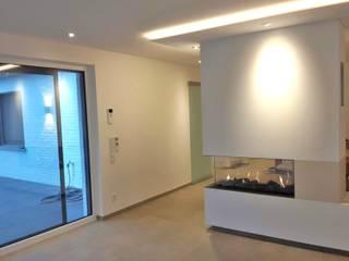 Queck - Elektroanlagen Modern living room