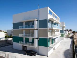 Complesso residenziale MINERVA - 23 alloggi sociali di edilizia convenzionata di studio di architettura Antonio Giummarra Moderno
