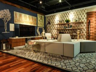II Mostra de arquitetura e decoração I'CASA - Lounge - São José do Rio Preto - SP:   por Attitude,Moderno