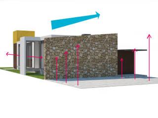 Casa sin nombre:  de estilo  por Contempo MX arquitectos