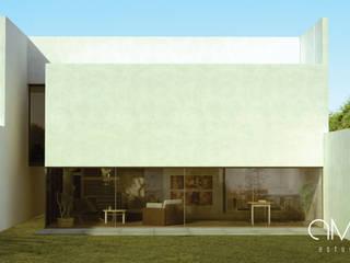 [ PROYECTO CASA SAHA ]: Casas ecológicas de estilo  por AMAESTUDIO ARQUITECTURA
