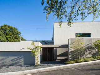 Architet6建築事務所 Chalets & maisons en bois Béton Beige