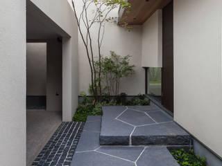 Architet6建築事務所 Jardin avant Pierre Beige