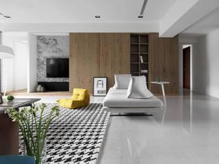 โดย Ho.space design 和薪室內裝修設計有限公司 โมเดิร์น