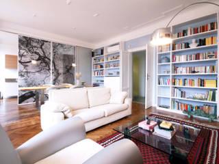 Un appartamento a Milano Soggiorno moderno di Barbara Patrizio DesignLab Moderno