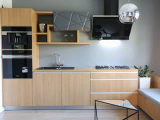 Nowoczesne drewno z aluminium: styl , w kategorii  zaprojektowany przez Art House Studio