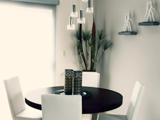 Modern dining room by spazio interiores Modern