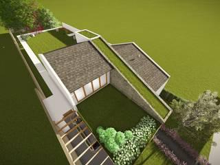 Residência G. Z.: Casas do campo e fazendas  por TELLUS ARQUITETURA SUSTENTÁVEL,Moderno