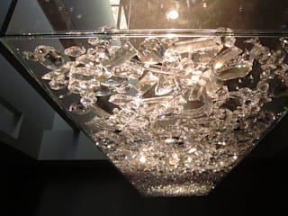 Crystal Pendant Lighting:   by ABOON custom lightings