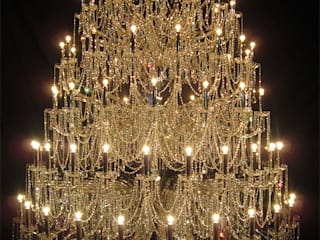Crystal Chandelier:   by ABOON custom lightings