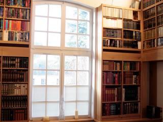 Bibliothèque par Couleur Bois Moderne