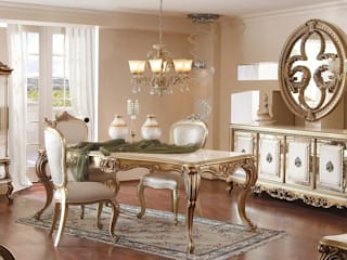 LUXURY LINE FURNITURE Dining roomTables Kayu White
