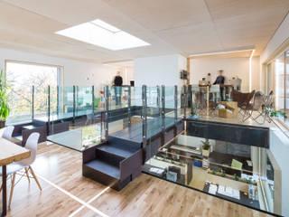 KA - Architektur Büro Moderne Bürogebäude von AUTARC Autengruber Architektur Modern