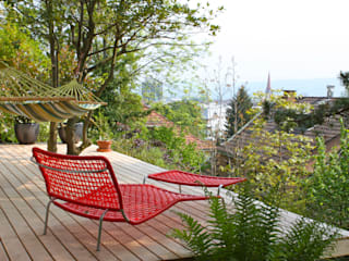 Modern style gardens by Pini&Sträuli Architects Modern