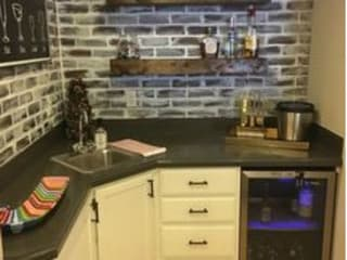 What we can do for you Modern kitchen by Nozipho Construction Modern