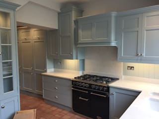 Handpainted kitchen by John Ladbury in Hertfordshire by John Ladbury and Company Classic