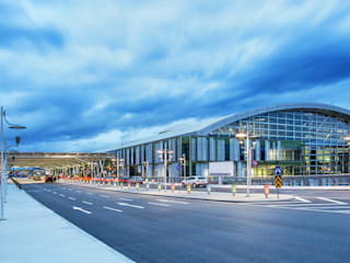 Adnan Menderes Airport International and Domestic Terminal Modern Havalimanları Hazan Mimarlık Modern