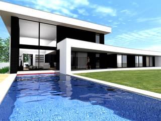 Habitação Unifamiliar - Vila Verde:   por Arquijulio - Arquitetura, Engenharia e Topografia