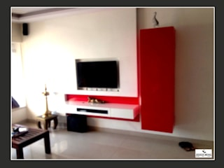DesignBeing project - Residential, Mumbai: modern Living room by Design Being