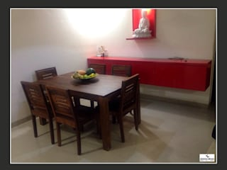 DesignBeing project - Residential, Mumbai: modern Dining room by Design Being