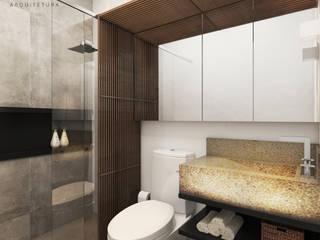 ห้องน้ำ โดย Rau Duarte Arquitetura,