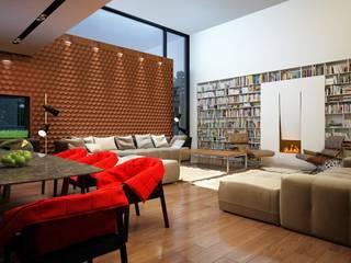 Living room by Аnna Knysh, Minimalist
