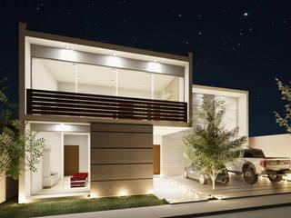 Casa Cristóbal Herrera de Anclas Arquitectos Minimalista