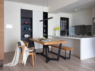 餐廳 極簡室內設計 Simple Design Studio Scandinavian style dining room