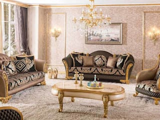 LUXURY LINE FURNITURE Salas/RecibidoresSofás y sillones Madera Marrón