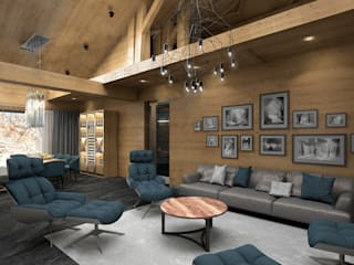Country style living room by ARCHDUET&DA Country
