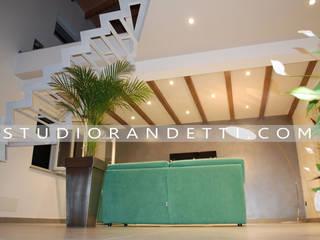 VILLA CASTALDI _ new concept design Case moderne di STUDIO RANDETTI - PROGETTAZIONE E DESIGN Moderno
