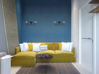 Дизайн-проект в Парк Авеню, 62 кв.м.: Рабочие кабинеты в . Автор – Loft&Home