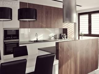 Kuchnia: styl , w kategorii Kuchnia na wymiar zaprojektowany przez BB Concept