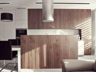 Wyspa kuchenne: styl , w kategorii Kuchnia na wymiar zaprojektowany przez BB Concept