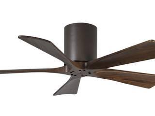 CASA BRUNO ventiladores de diseño para techos bajos:  de estilo  de Casa Bruno American Home Decor