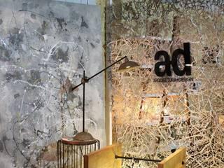 Feira Construir Stand Projeto AD - Franca - SP: Fitness  por Attitude,Moderno