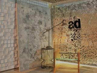 Feira Construir Stand Projeto AD - Franca - SP: Escritórios  por Attitude,Moderno