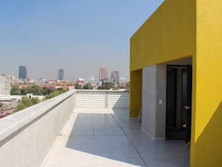 Nube Interiorismo Balcon, Veranda & Terrasse modernes