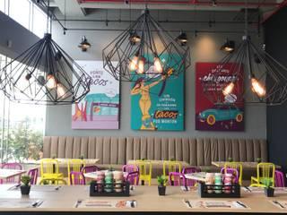 Ecologik Nhà hàng Multicolored